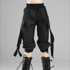 "Dollmore 17"" 1/4 BJD MSD - Cargo seven thenths pants (Black)[A1]"