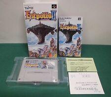 SNES -- ESTPOLIS 2 -- New. Unused. Super famicom. Japan game. work fully.