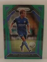 MARC ALBRIGHTON 2020 PRIZM EPL GREEN WAVE PRIZM SP LEICESTER CITY FC #125