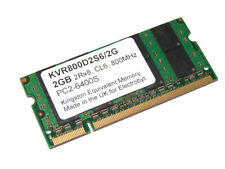 Electrobyt KVR800D2S6/2G 2GB 200-Pin SODIMM PC2-6400S 800MHz DDR2 Laptop Memory