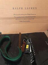 Polo Ralph Lauren Green & Navy Belt. Size 38