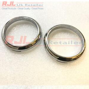 Chrome Bezel Rings fits Facelift Mk2.5 Models 2008-2011 including Zetec St