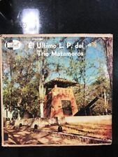 "Rare Cuban LP /TRIO MATAMOROS ""El ultimo LP del Trio Matamoros"" / VELVET LPV1061"