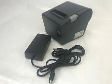 Epson Tm-t88v M244a Serial & USB Receipt Printer w/ PS-180 Supply Free Shipping!