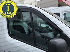 Premium Weather Shields Window Visor Weathershields for Renault Trafic X82 16-17