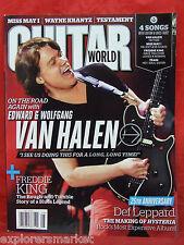 Guitar World April 2012 50 Best Van Halen Songs Eddie Wolfgang Def Leppard train