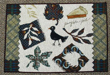 Harvest Time Collage ~ Fall & Autumn Tapestry Placemat
