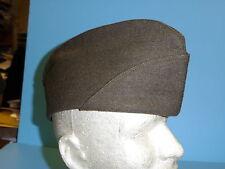 a0318  WWII US Army EM Wool OD Garrison Cap (small)