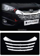 Chrome Radiator Grill Center Trim Cover for 11-13 Hyundai Tucson ix35 +Tracking