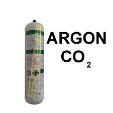 BOMBOLA GAS BOTTLE ARGON CO2 1 L NON RICARICABILE X FILO CONTINUO TELWIN 802048