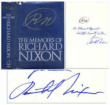 ''The Memoirs of Richard Nixon'' Signed 1978 Book