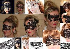 Venezianische Gesichtsmasken Party sexy Spitzen Maske Augenmaske Karneval Club