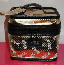 Victoria's Secret PINK Fashionshow Traincase *New in online packaging* Gold