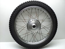 Yamaha DT125 DT 125 Enduro #4244 Chrome Front Wheel & Tire