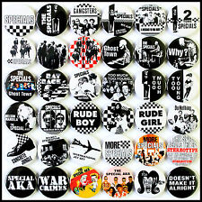 The Specials 1979-1984 Badge Set - 36 Quality Pin / Button Badges (2 Tone)
