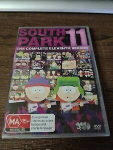 South Park Season 11 Dvd Complete Eleventh Season Region 4 3 Discs New & Sealed