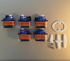 5 x 9g SG Servo Motor 90 Decigrams, Ø5mm Tower, Light Pro & Hobby FSEN