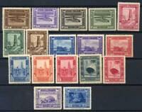 Somalia 1935 Sass. 213-228+230 Nuovo ** 80% pittorica