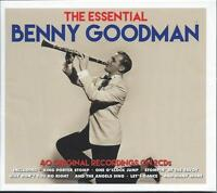 Benny Goodman - The Essential - The Best Of / Greatest Hits 2CD NEW/SEALED