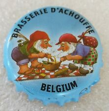 Belgium Rare Used Bottle Cap Brasserie d'Achouffe Micro Craft Beer Chapa