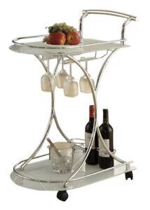 Baumbach Bar Cart Cocktail Casual Dinner Bold Impressive Elegant Contemporary