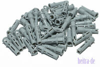 LEGO Technik - 50 x Pin mit Stopper hellgrau / Pin 3L / 32054 NEUWARE (L5)