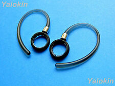 New 2pcs Gray (Efp) Earhooks Loops Earclips for Motorola Hx600 Boom and Boom 2