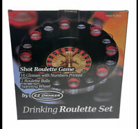 EZ DRINKER Shot Spinning Roulette Game Set (16-Piece) FREE SHIPPING