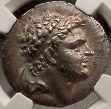 PERSEUS king of MACEDONIA Silver Greek NGC Certified AU Tetradrachm Coin i57202