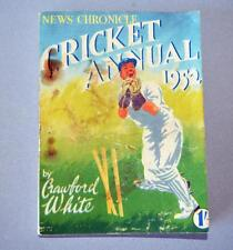 Old news CHRONICLE Cricket Annuale per 1952-CRAWFORD bianco.