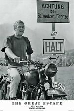 The Great Escape - Steve McQueen -  Licensed ENCAPSULATED / LAMINATED Poster