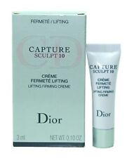 3x DIOR CAPTURE SCULPT 10 LIFTING FIRMING CREME 3ML Sample Size