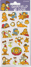 GARFIELD AND ODIE CHILDREN KIDS FUN STICKERS 3 SEALED SHEETS