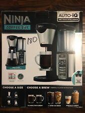 Ninja Coffee Bar Auto-iQ Brewer with Glass Carafe CF081 - New!!!