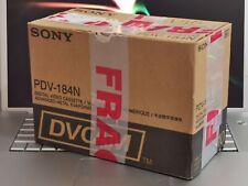 10x Sony DVCAM PDV-184N 184 Minutes / 3 Hours Tapes Box DV Digital Camera