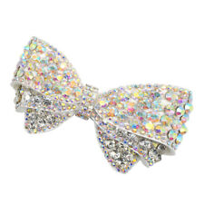 Detachable Bowknot Shoe Clip Decorative Crystal Shoe Charm Butterfly Buckle