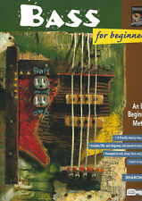 Alfred 'BASS (Guitar) For Beginner's - An Easy Beginning Method' by Sharon Ray