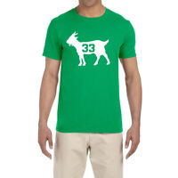 Boston Celtics Larry Bird Goat T-Shirt