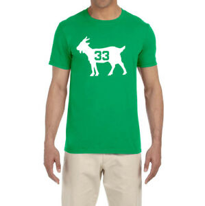 Boston Celtics Larry Bird Goat T-Shirt