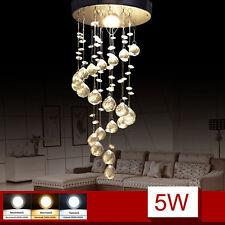 LED Hängelampe Kronleuchter Kristall Lampe Hängeleuchte Deckenleuchte Leuchte