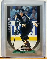JAROMIR JAGR 2020-21 Parkhurst Upper Deck Silver SP Legend Card #329