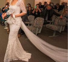 Handmade Lace Mermaid & Trumpet Wedding Dresses