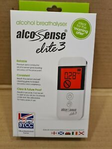 AlcoSense Elite 3 Breathalyser (New)