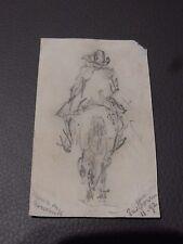 1892 Cavallo, che recavano MATITA DISEGNO Divertimento Articolo