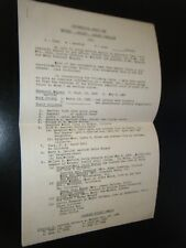 Meyers Heisey Ousley Families Typewritten Genealogy from 1961