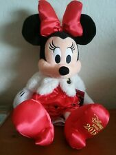 """New listing Disney 17"""" Minnie Mouse Holiday Plush Toy 2018"""