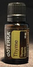 doTERRA Thyme Essential Oil 15ml - Cleansing/Purifying - Repels Insects