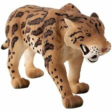 1960 s préhistorique Playset Smilodon Sabertooth Tiger Plastique Figurine Marx Tan
