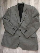 Croft & Barrow Men's Brown Sport Coat Blazer Jacket Color Gray Size 46R