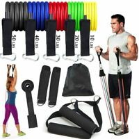 180c No Latex Exercise Therapy Resistance Band Set of 5 Varoius Resistance 6/'